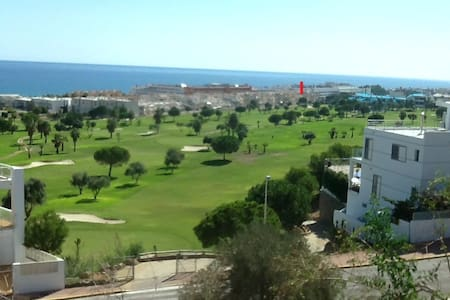 3 double bed apartment/aircon/car space in summer - Mojácar