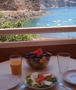 Beachfront apartment.La Gomera. - Valle Gran Rey