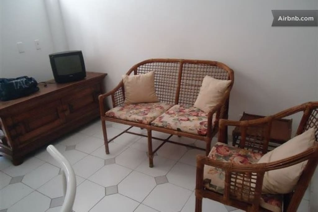 SITTING AREA WITH SMALL TV