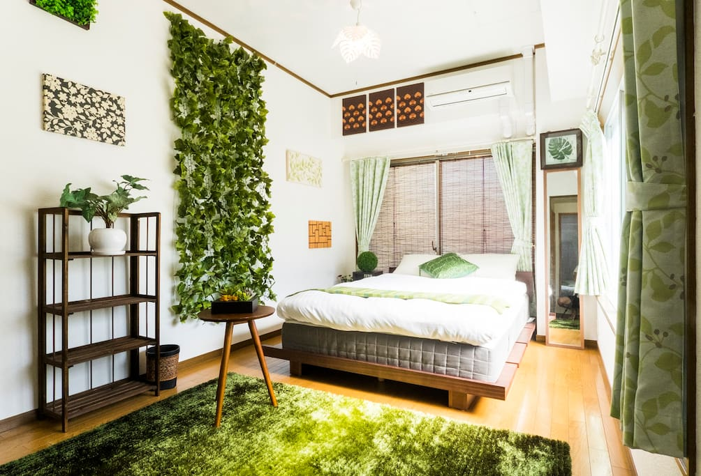 The nature bedroom.