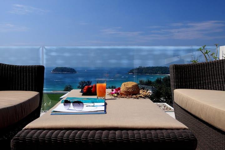 The heights Kata Phuket luxury 2bedroom ocean view B15