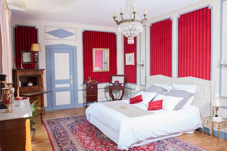 Chambre ou suite Empire - Saint-Jean-du-Bois - Bed & Breakfast
