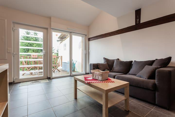 A COTE D'EUROPAPARK COEUR  L'ALSACE - Friesenheim - Apartament