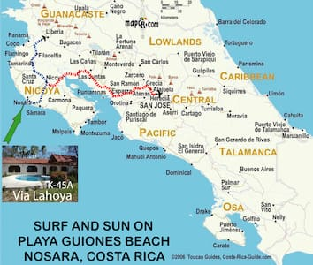 Via LaHoya Hacienda - Playa Guiones - House