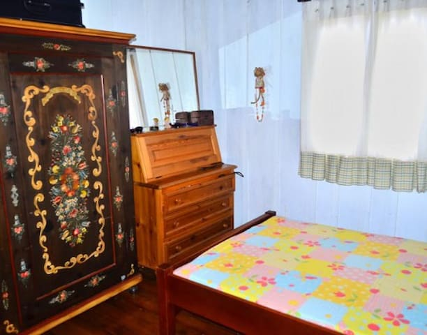 Sitio Vida Nova - Acolhida na Colônia - Presidente Nereu - Cabin