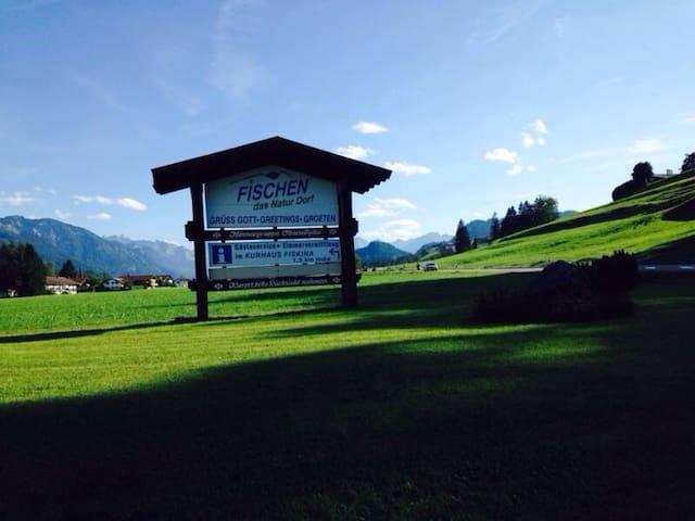Urlaub in Fischen i.A. , Bergblick - Fischen