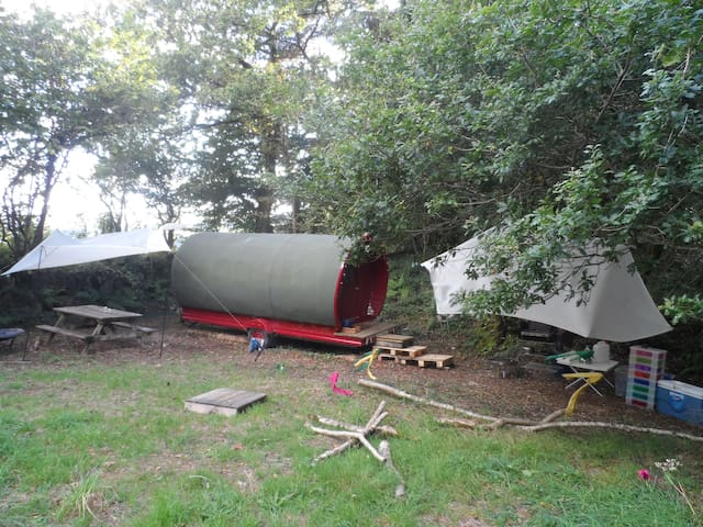 Gypsy Caravan in Private area - Horrabridge - Other