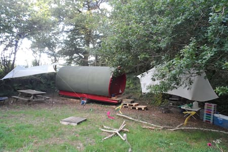 Gypsy Caravan in Private area - Horrabridge