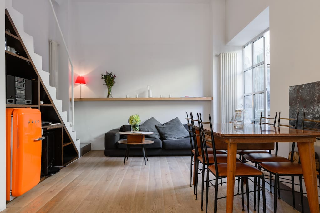 navigli porta genova design loft fiber wifi lofts zur miete in mailand lombardia italien. Black Bedroom Furniture Sets. Home Design Ideas