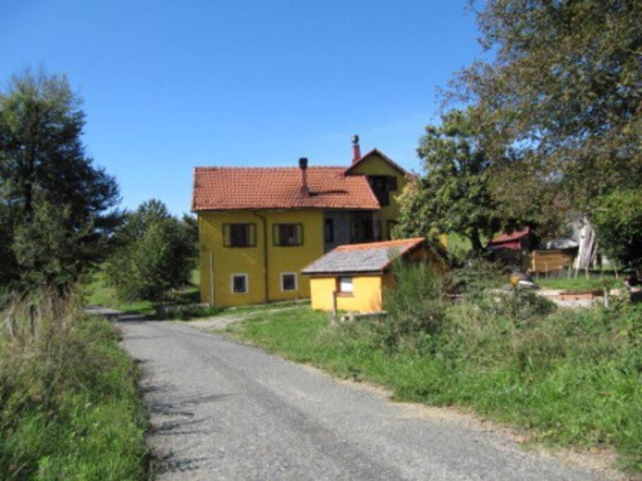 Vista esterna case
