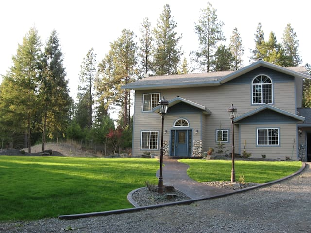 Comfortable home near Spokane - Chattaroy - Huis