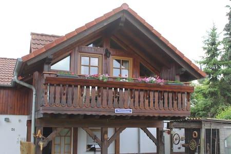 kompl. Holz Ferienhaus | 100 m² - 2 Etagen 5 Pers. - Ortenberg - Casa