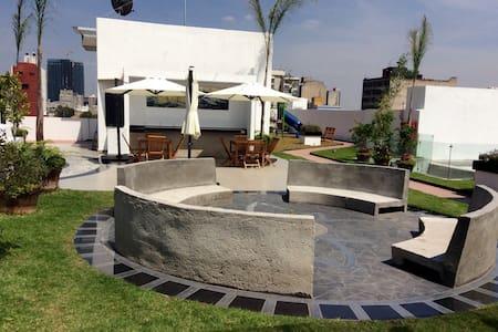 HERMOSO DEPTO. NUEVO TIPO LOFT. - Mexiko-Stadt - Loft