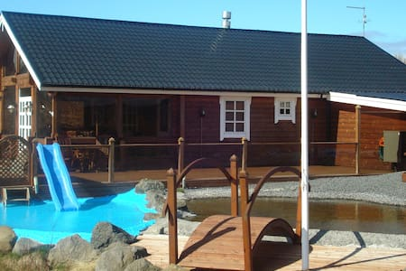 Big Luxus cabin For rent in Iceland - Selfoss - Hytte