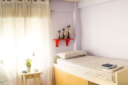Spacious and bright room - Madrid - Bed & Breakfast