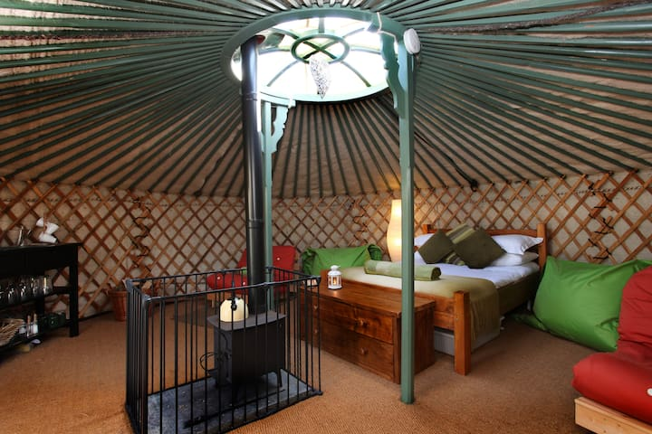 East Thorne Yurts - Cornwall