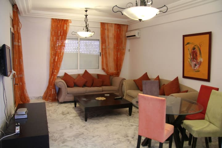 Seaside luxury apt at Hammamet TN