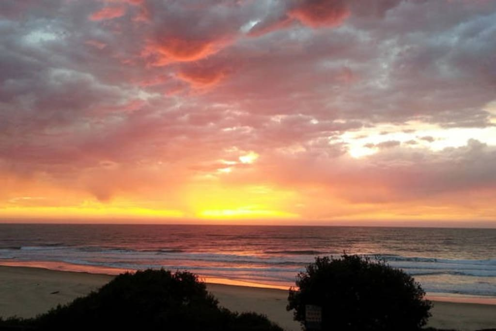 One of the ever changing sunrises you can enjoy from your room and private balcony.