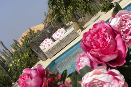 Exotic La Vie en Rose-house Bonaire