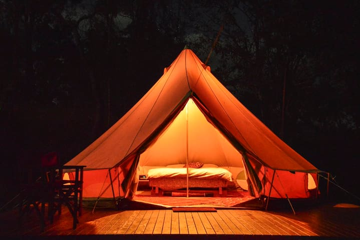 Luxury Camping Pinnacle Eco Retreat - Pumpenbil - Tent