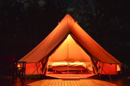 Luxury Camping Pinnacle Eco Retreat - Pumpenbil - Tienda de campaña