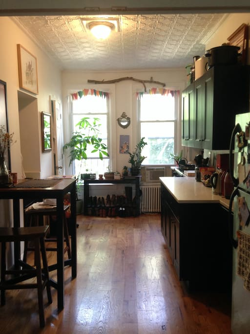 Renovated kitchen with ALL the appliances (even a ice cream maker!)