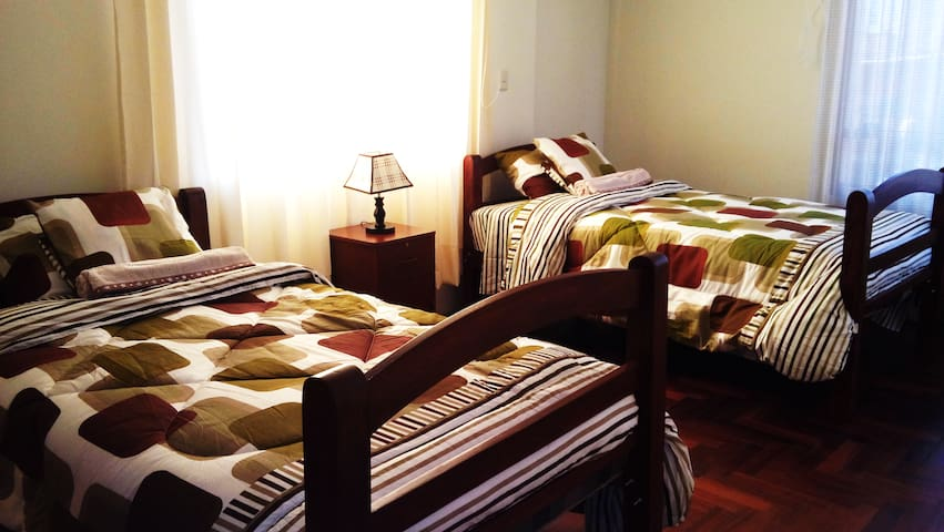 Private room and bathroom+breakfast - Arequipa / Arequipa / Yanahuara - Huis