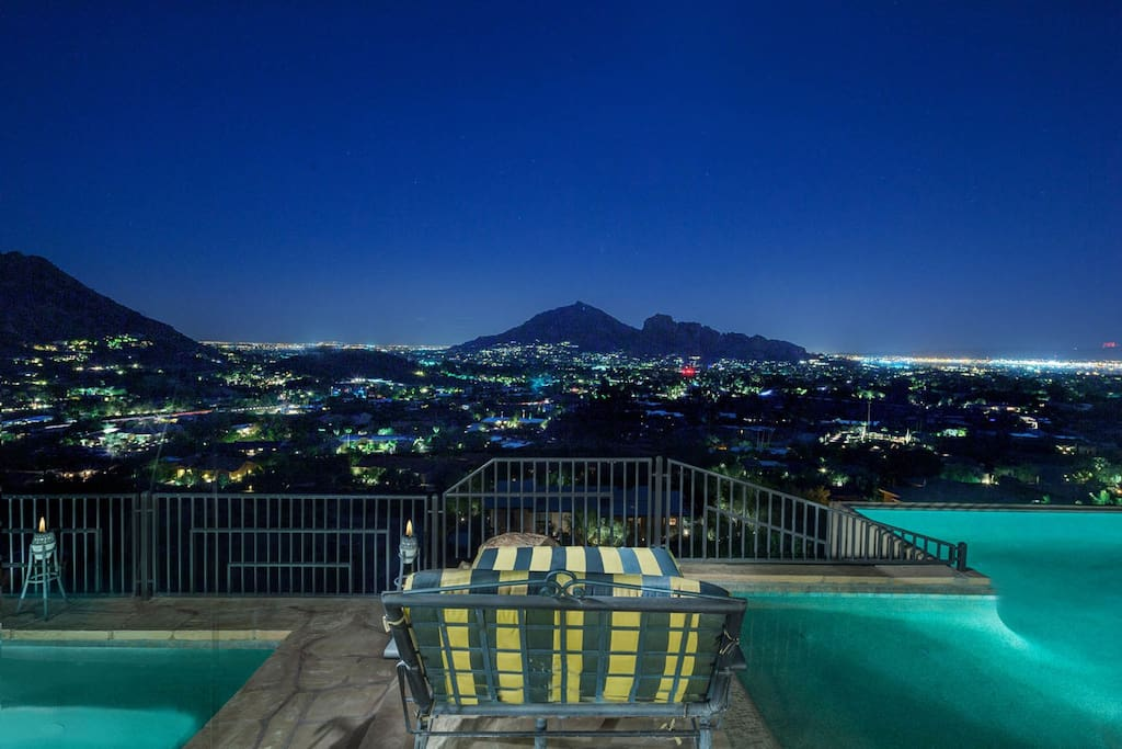 Breathtaking views in Paradise Valley!
