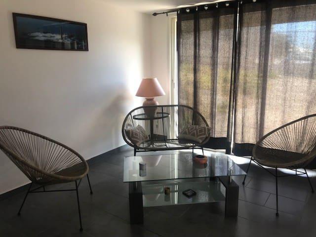 Appartement indépendant T2 + alcôve