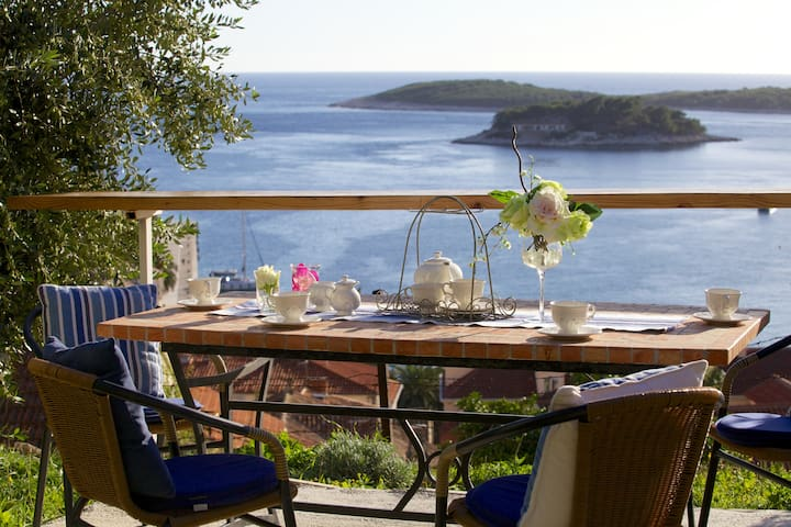 The best position in Hvar! - Hvar - Wohnung