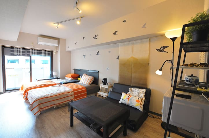 3min to MTR Station 3Beds + WiFi - Shinjuku-ku - Διαμέρισμα