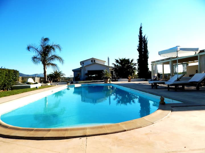 Pool villa near athens airport