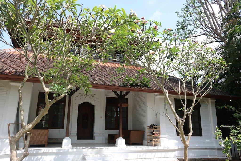 Beautiful contemporary Balinese villa.