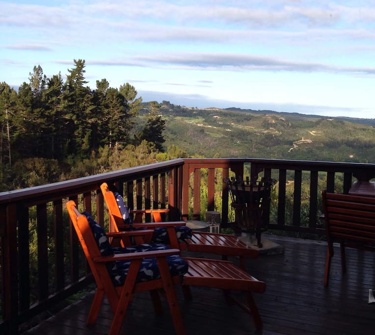 360 degree views from the deck