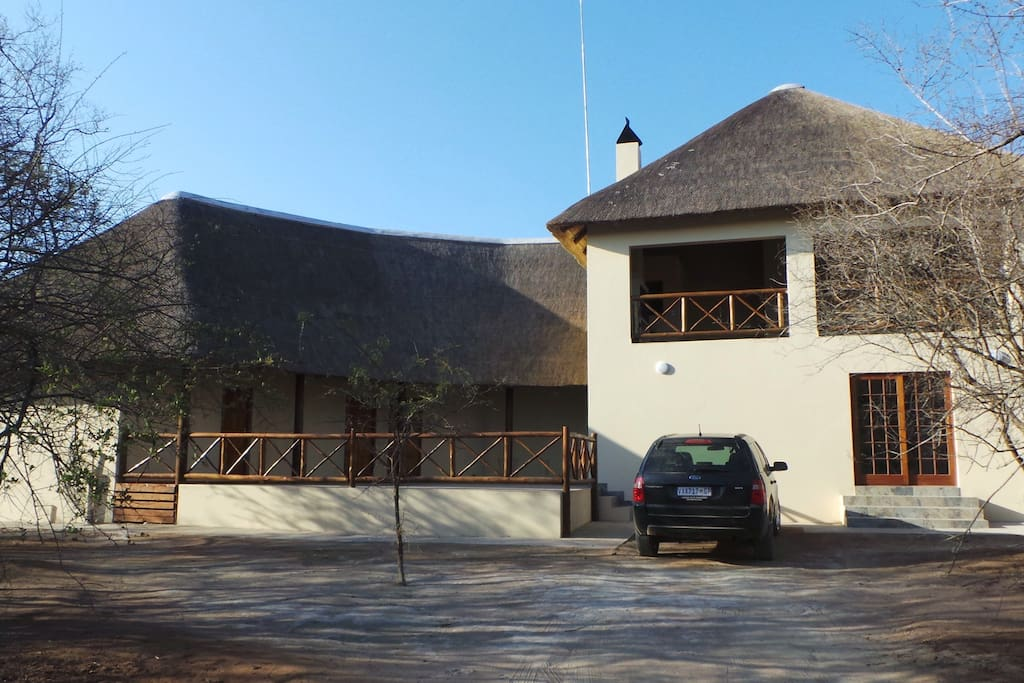 The house with four guest rooms available.