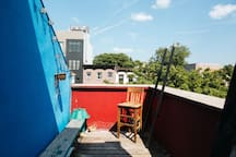 See the city like a real New Yorker on our private roof deck