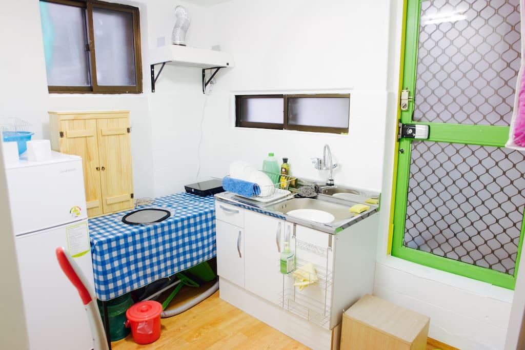 kitchen, refrigerator,