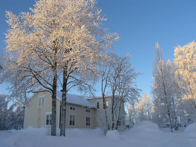 Large house in a village in Lapland