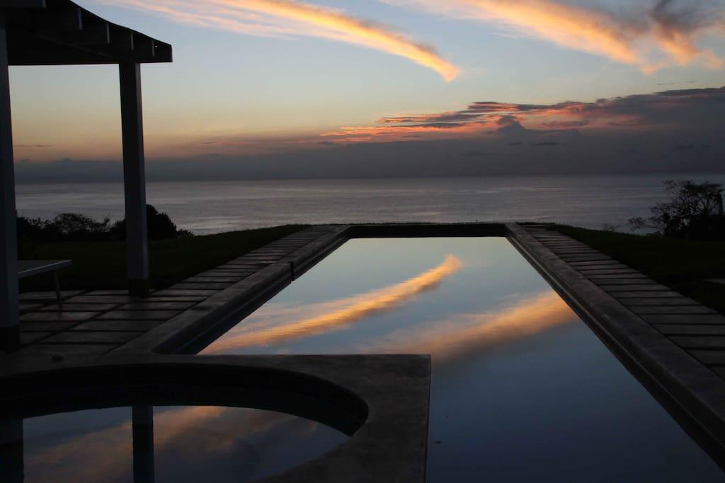 Ocean View Apartment in Montezuma