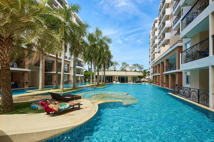 PARADISE PARK  #413/1,pool view!!!