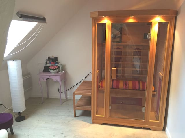 Chambre triple Sauna B&B VILLA VINO