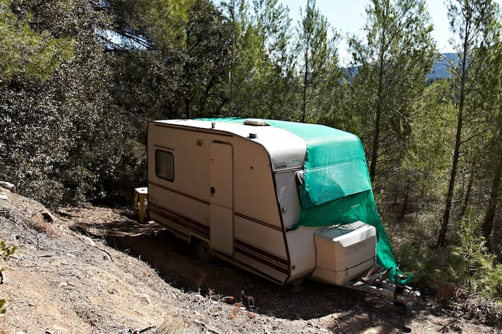 A caravan to move freely around! - L'Espluga de Francolí - Camper/RV