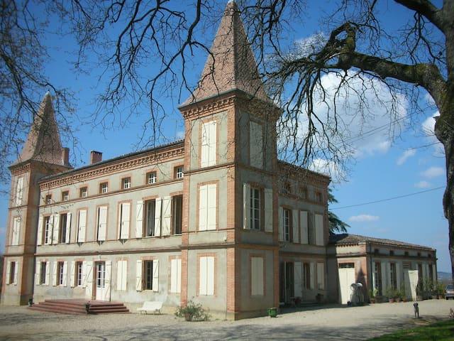Gîte dans une aile du château - Lavaur - Apartamento