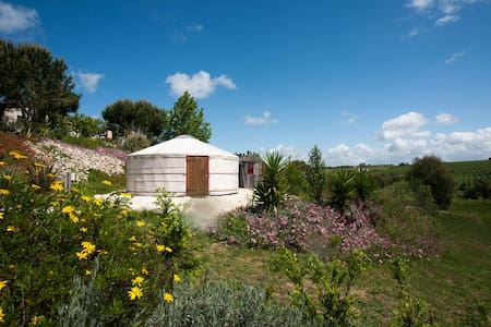Glamping in our Yurt! - Vimeiro, Alcobaca