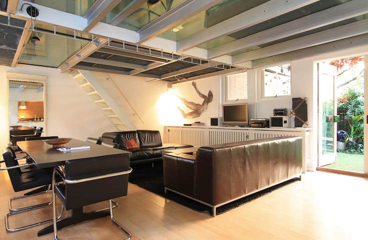 Artistic loft with garden. - Amsterdam - Apartment