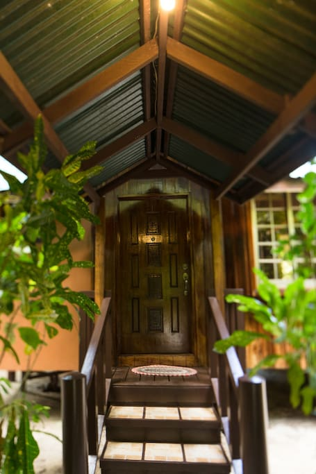Entrance way to Standard Bungalow.