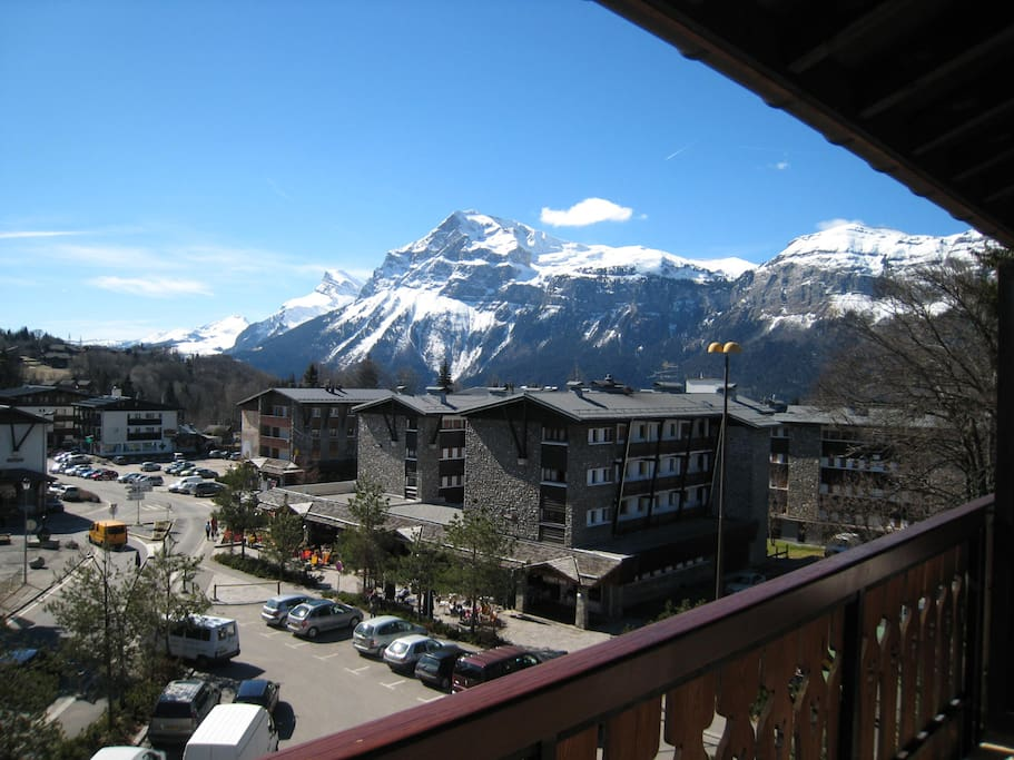 2ème Vue du balcon