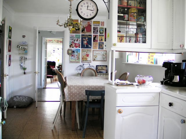 Bright and comfortable kitchen