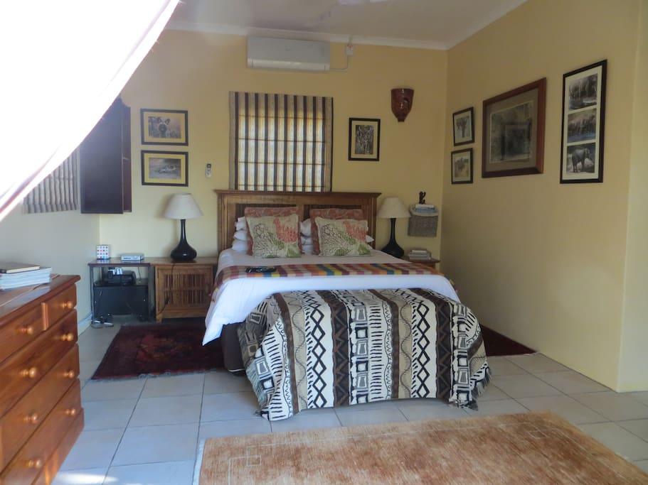 Bed room in cottage