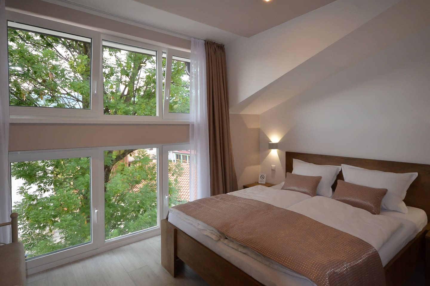 All new,beautiful view,comfortable beds......